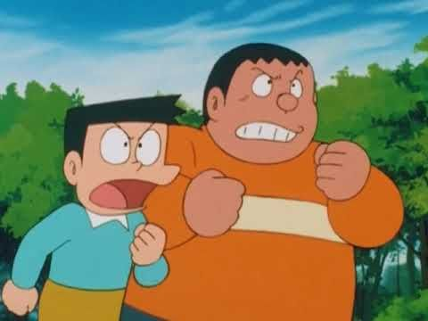 Esto es una imagen que muestra a los personajes Suneo y Takeshi.